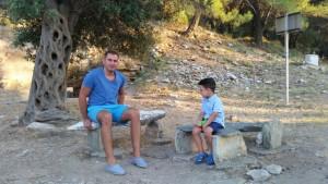 Discutie intre barbati la situl arheologic Aliki