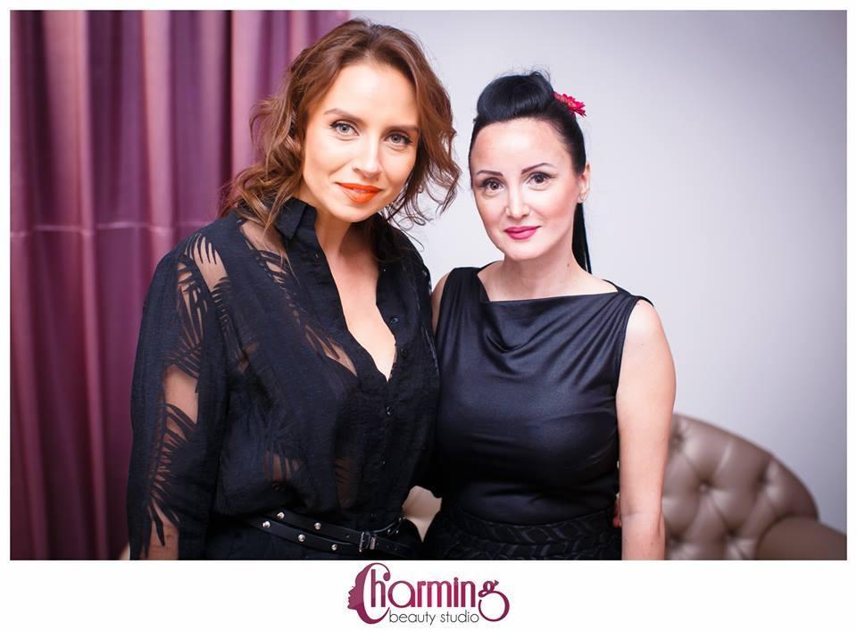 Claudia Dumitru, initiatoare proiectului Charming Beauty Studio