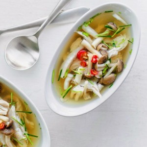Tom Yum de curcan
