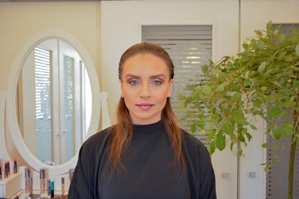 Cum transformi in 5 minute un machiaj de zi in unul de seara, vara / Makeup Artist Stela Ciciu