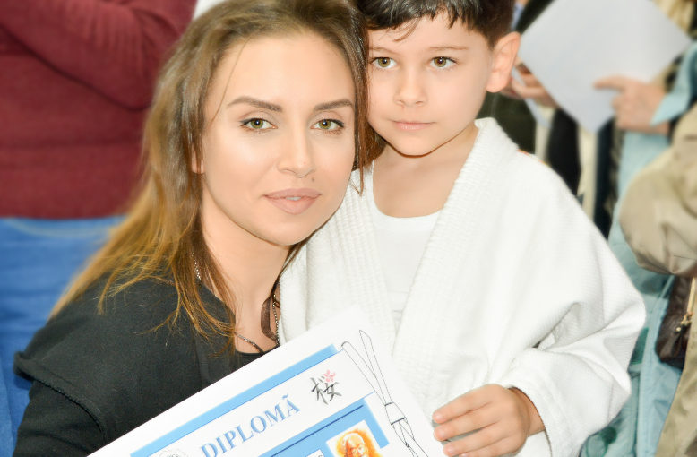 Primul examen pentru micul meu judoka