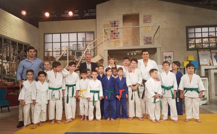 Vorbeste lumea la PRO TV despre #judo