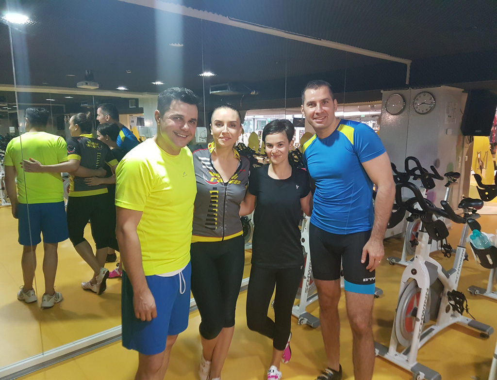 Vorbeste lumea la PRO TV ca s-a apucat Cove de sport cu Halas Hugenii