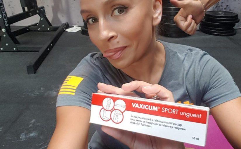 Sportul si durerile musculare sau cum m-am imprietenit cu VAXICUM SPORT