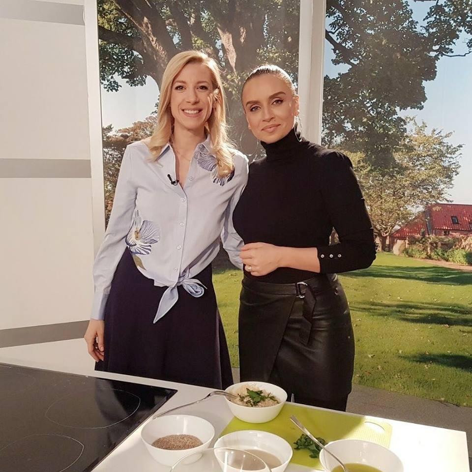 """Am pregătit gustări sănătoase împreună cu Sonia Argint Ionescu pentru """"Vreau să fiu sănătos"""" (TVR)"""
